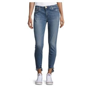 True Religion Halle Mid Rise Super Skinny Jeans 28